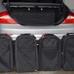 Vier kleine Koffer für den CLS
